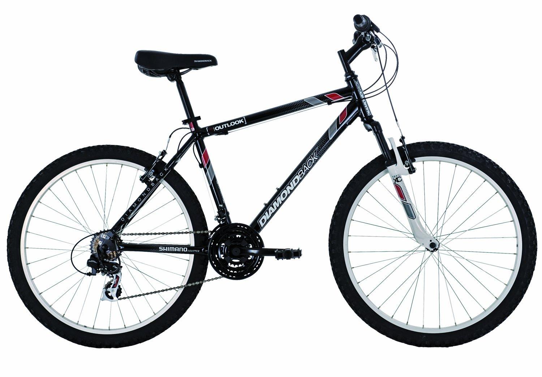 1db120408a0 Amazon.com : Diamondback Outlook Mountain Bike (26-Inch Wheels), Black,  XX-Small/12-Inch : Hardtail Mountain Bicycles : Sports & Outdoors