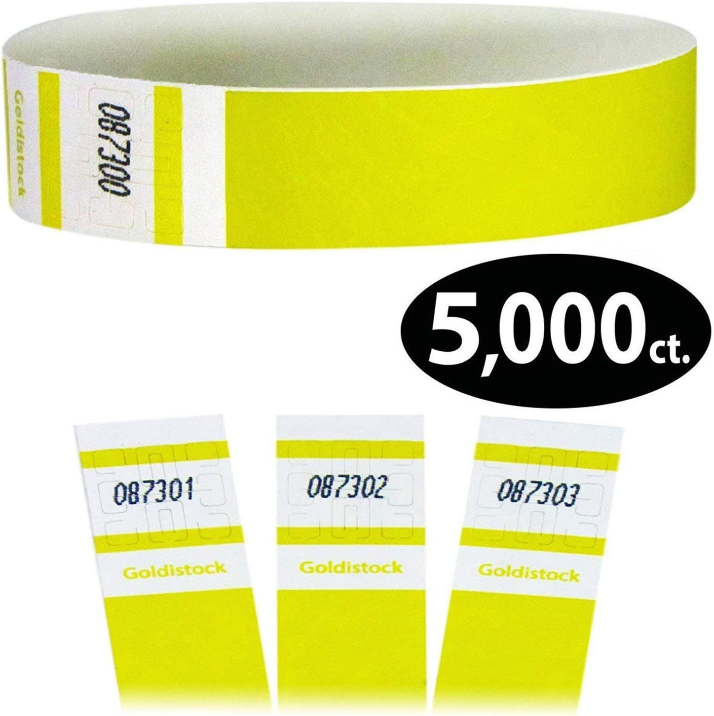 """PAPER WRISTBANDS 100  PATRIOTIC  3//4/"""" TYVEK WRISTBANDS WRISTBANDS FOR EVENTS"""