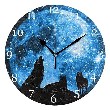 Galaxy Painting Wolf Art