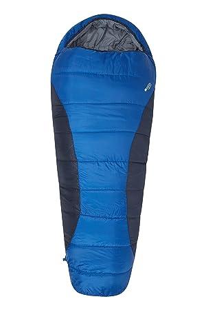 Mountain Warehouse Saco de dormir Summit 300 L - Aislamiento térmico de fibras huecas, saco
