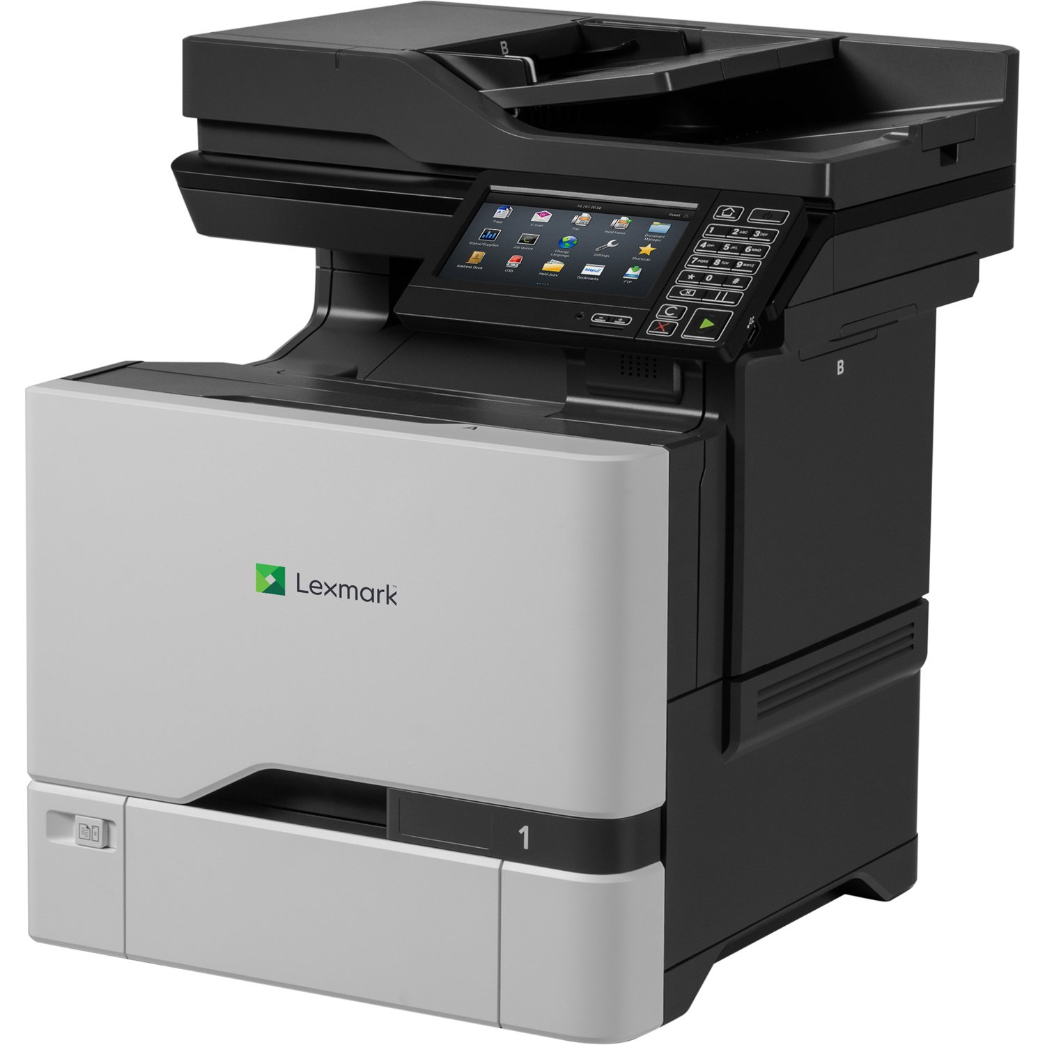 Network Ready Lexmark 40C9500 CX725de Color All-in One Laser Printer Duplex Printing//Professional Features