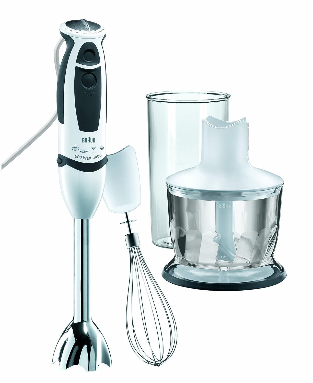 Amazon.com: Braun MR530 Multiquick 50 Hz 5-Sauce Hand Blender, 220 ...