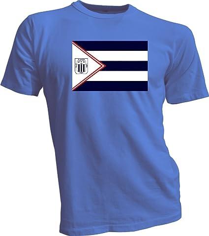 ALIANZA LIMA Peru Futbol Soccer Flag Banner Blue T-SHIRT Camiseta NEW Size s-