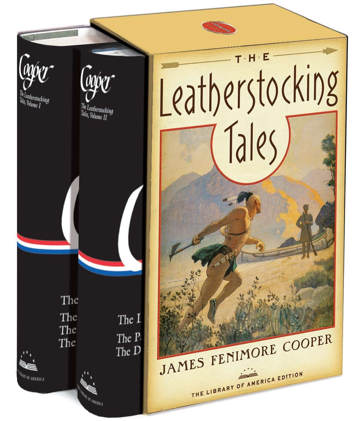 Read Online The Leatherstocking Tales: A Library of America Boxed Set PDF