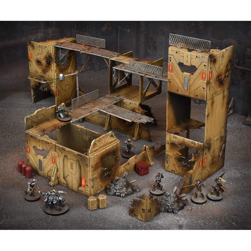 Gang Warzone Unbekannt Mantic Games mgtc202/terraincrate braun
