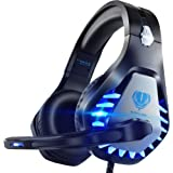 Pacrate Gaming Headset for PS4, Xbox One, with Noise Cancelling Mic - Pro Stereo Surround Sound Over Ear Gaming…