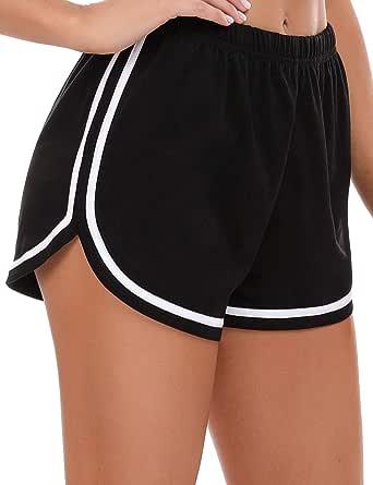 iClosam Women's Activewear Shorts Yoga Running Athletic Workout Shorts