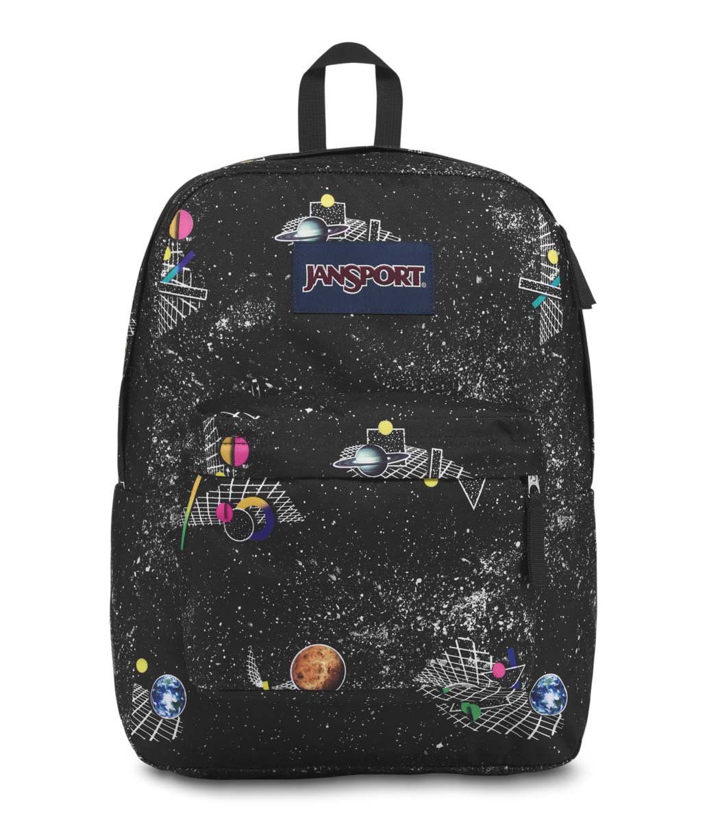 JanSport JS00T501 Unisex Superbreak Backpack, Space Metrics - One Size by JanSport
