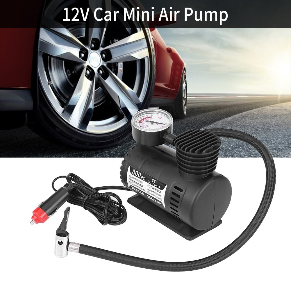 Amazon.com: Delaman 12V 300 PSI Portable Emergency Mini Air Compressor Electric Car/Motorcycle Tire Infaltor Pump: Home Improvement