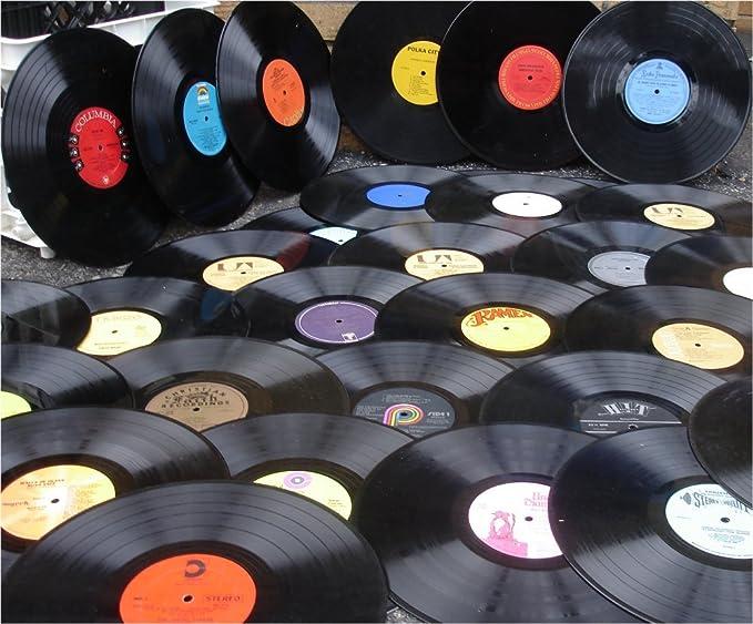 Paquete De 50 Discos De Vinilo Para álbumes Crafting Lp Camera Photo