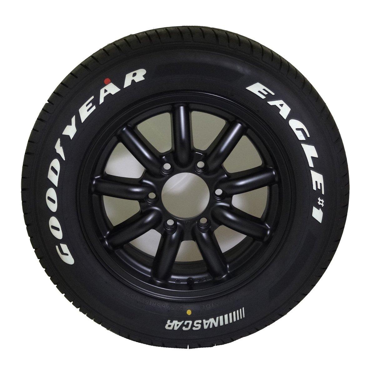 16インチ タイヤ&ホイール グッドイヤー(GOODYEAR) EAGLE #1 NASCAR 215/65R16 ファブレス B00K19P9E2