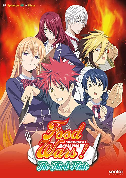 The Best Food Wars The Complete Series On Dvd