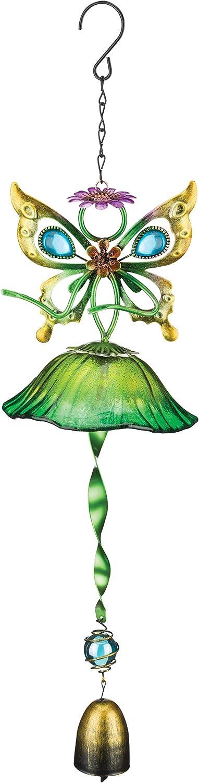 Regal Art & Gift Fairy Bell - Green