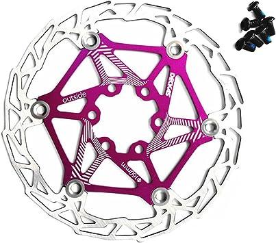 Gymforward - Freno de disco flotante de acero inoxidable para bicicleta (160 mm): Amazon.es: Coche y moto