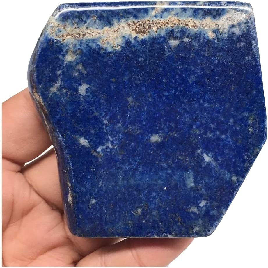 Amazon Com Watangems 2 9 X3 1 X0 8 188 6g Natural Polished Lapis Lazuli Freeform From Badakhshan Afghanistan Mineral Pl152 Home Kitchen