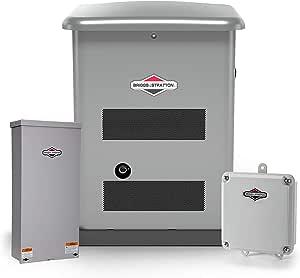 Briggs & Stratton 40626 12kW w/ 200 Amp Symphony II Switch Standby Generator, Gray