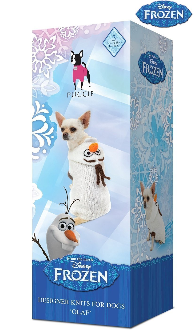 Puccie® Designer Dog Coat Knitting Kit Includes: Knitting Pattern ...