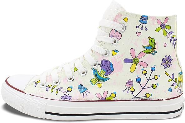 Wen Hand Painted Shoe Original Design