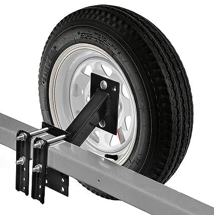 Repuesto de soporte para neumáticos para barco y remolque, compatible con 4 o 5 ruedas