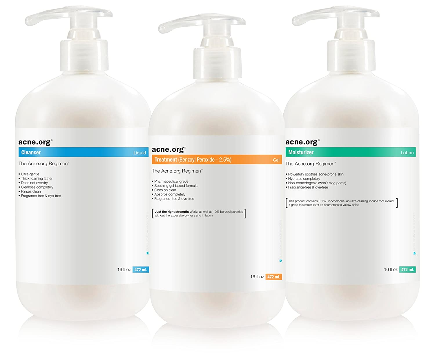 "The Acne.org Regimen - Complete Acne Treatment""Big Kit"""