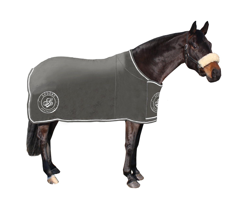 135cm Spooks blanket Carlotta Grey stone sweat parade blanket with spooks logo
