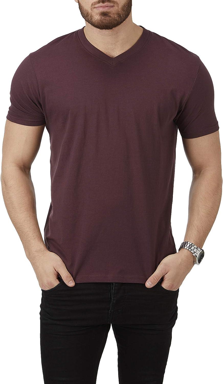 grande valeur Multi-Pack 6 Pack Fruit of the Loom Hommes Couleur T shirts