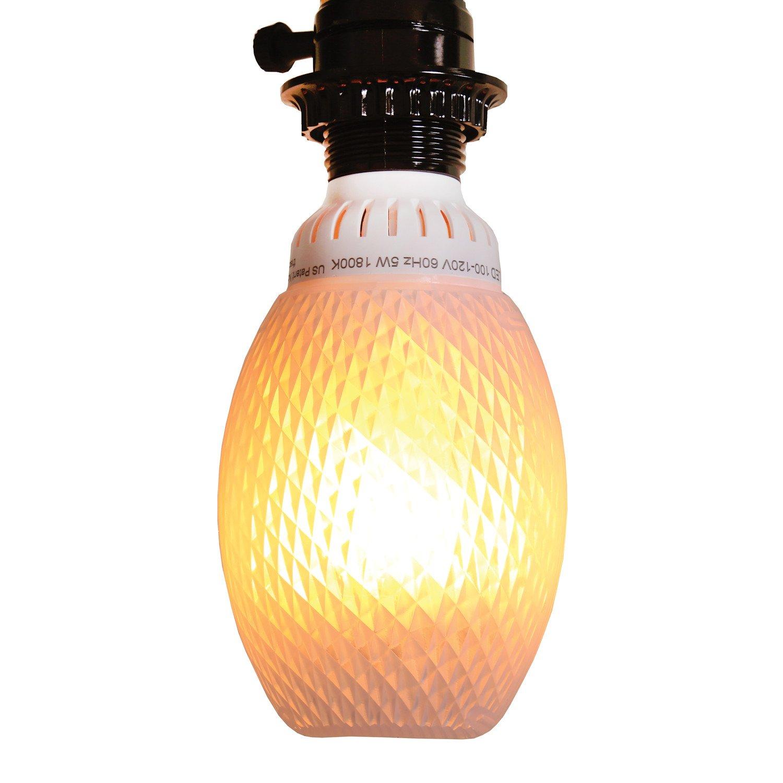 Amazoncom Flamewave Fb 1 Pl T Flickering Flame Led Bulb, White Home Improvement