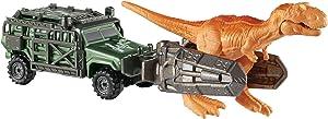 Matchbox Jurassic World Dino Transporters Tyranno-hauler Vehicle and Figure