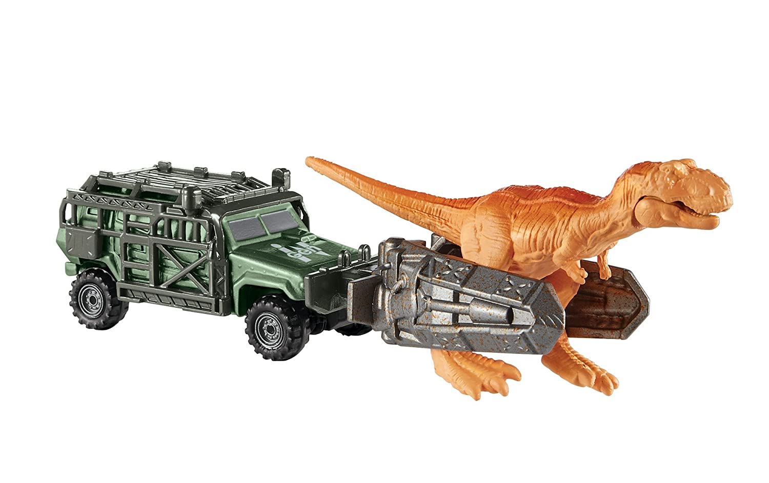 Matchbox Jurassic World Dino Transporters Tyranno-Hauler Vehicle Fisher Price / Mattel Canada FMY34