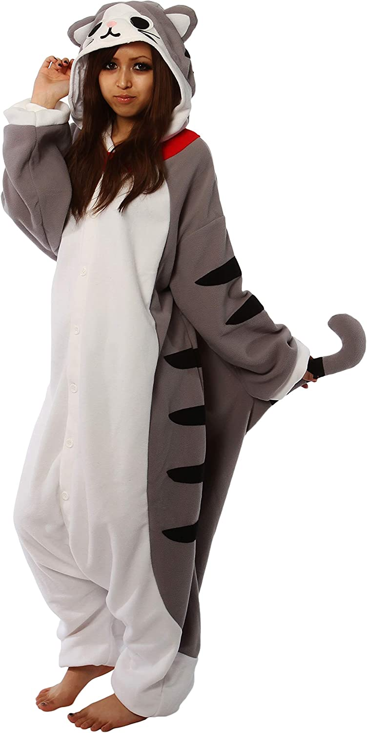 Enfants Costume Rayé Chat Overall Jumpsuit Carnaval Tabby Cat