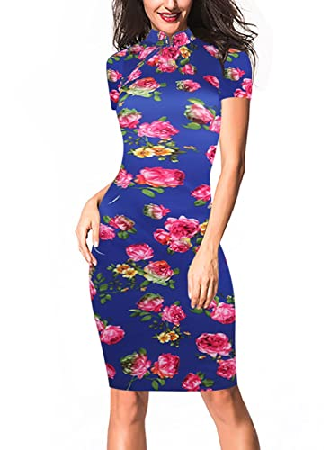 Oxiuly Women's Vintage Floral ...