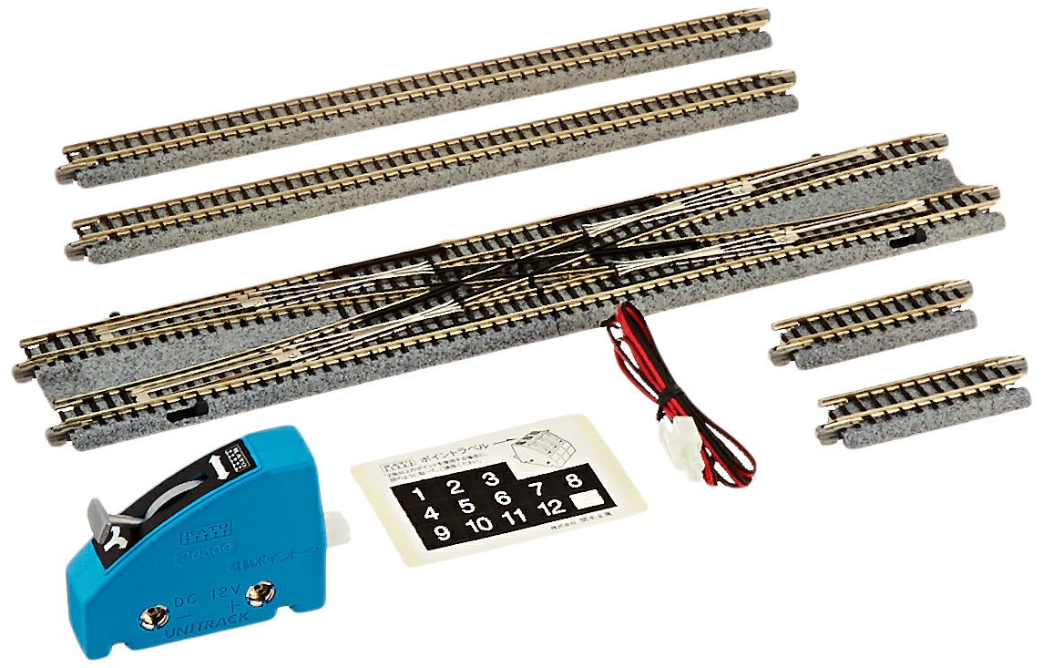 Kato Usa Model Train Products V7 Unitrack Double How To Wire A Switch Crossover Track Set Toys Games