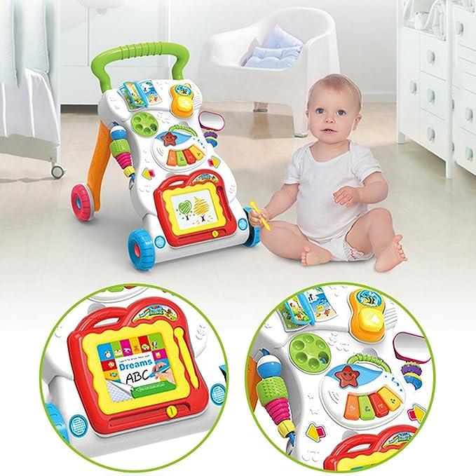 Pueri Andadores para Bebés del Primer Paso con Música Carritas ...