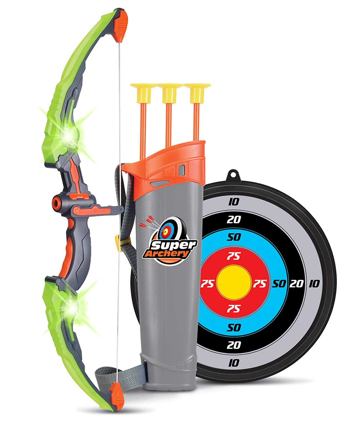 Light Up Archery Bow And Arrow Toy Set