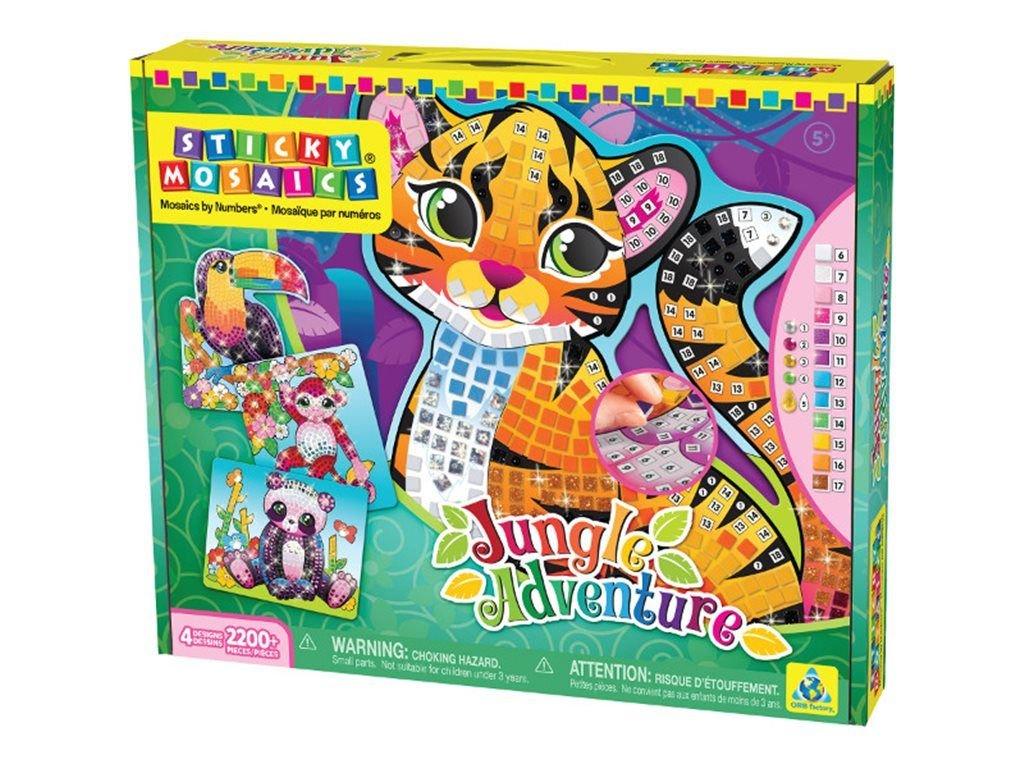 The Orb Factory Sticky Mosaics Jungle Adventure 69117