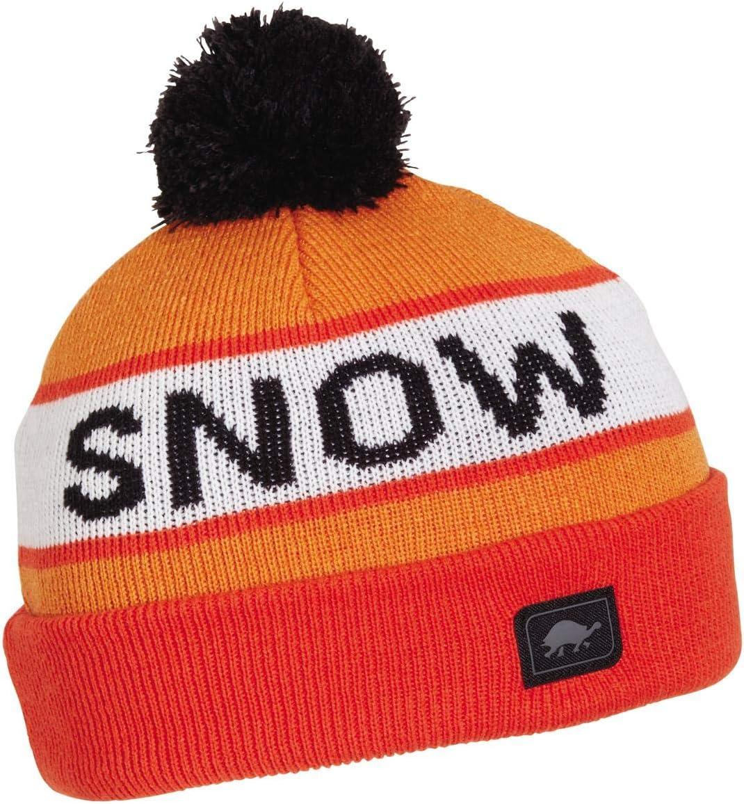 Turtle Fur Kids Think Snow Knit Pom Beanie
