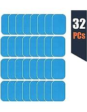 zociko EMS Gel Pad, Abs Entraîner Replacement Gel Feuille, Feuille de Gel de Rechange de Formateur de boursouflure d'EMS, 32 Feuille de Gel de Gel(2 pcs/Paquet, 16 pcs/Paquet)