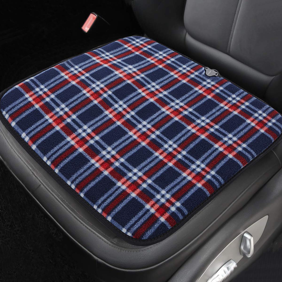 1 PC Big Hippo 12V Car Seat Cushion for Car Driver Seat Office Chair Home Use Heated Seat Cushion for Car Seat Heater USB Heated Seat Cover Car Seat Cushion Pad Fit Most Cars