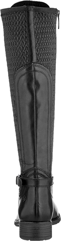 Tamaris 1-1-25511-23, Bottes Hautes Femme Noir Black 1