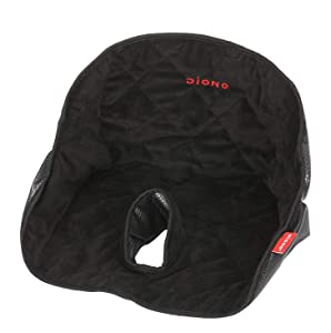 Diono Dry Seat, Waterproof Seat Protector, Black