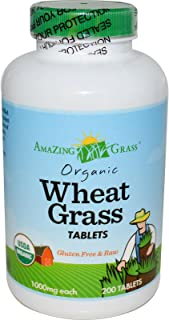 product image for Amazing Grass Organic Wheat Grass - 200 Tablets