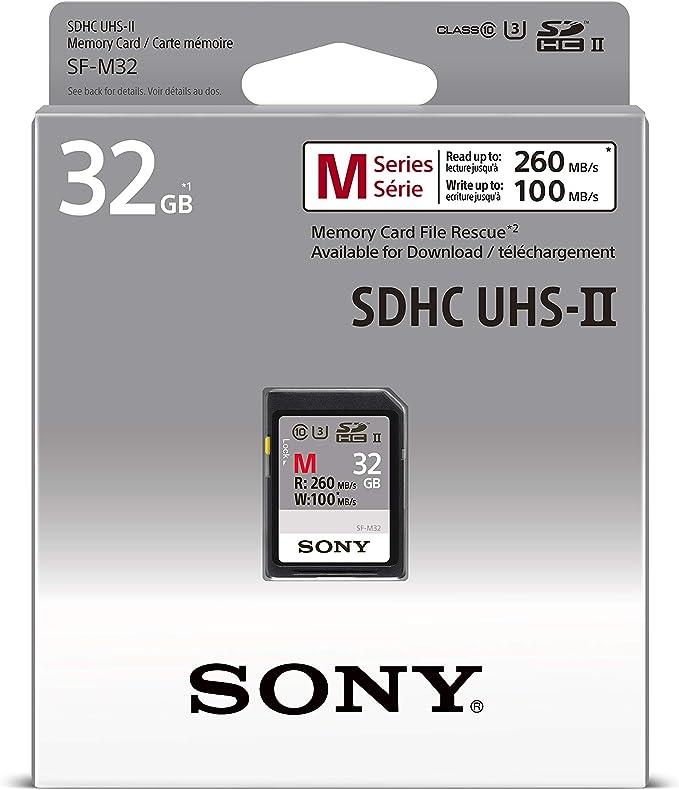 Sony Sf M32 Sd Speicherkarte 32 Gb Uhs Ii M Serie