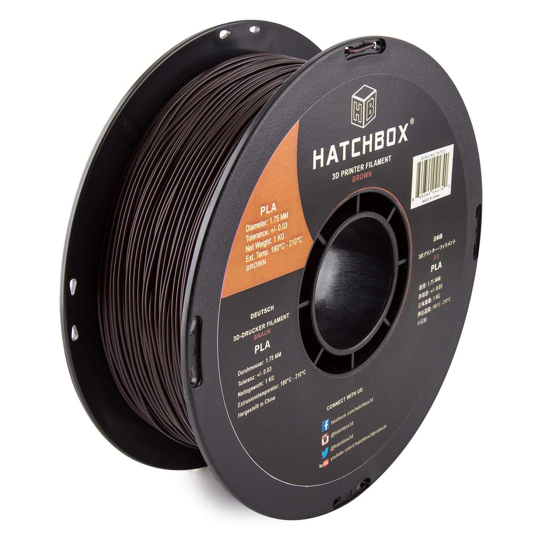 HATCHBOX 3d pla-1kg1.75 - 731 C Pla 3d impresora filamento ...