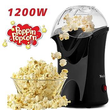 Homdox Hot Air Popcorn Popper