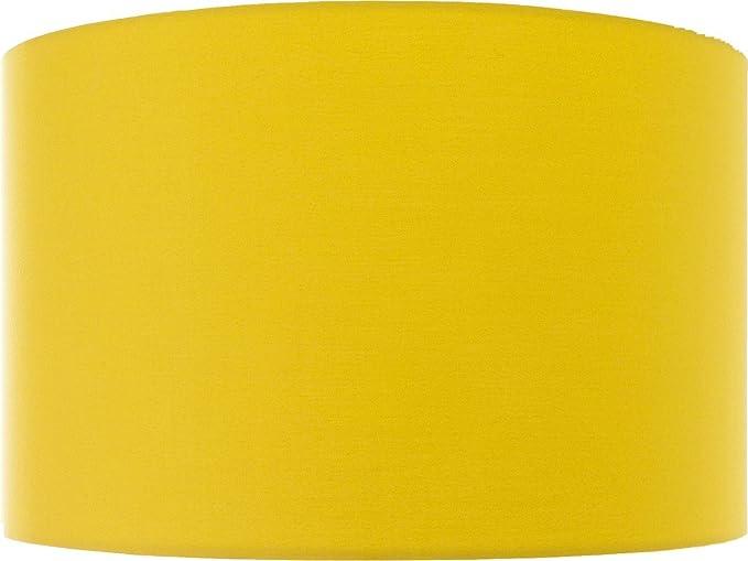 Tamaño grande 45 cm amarillo mostaza tambor/cilindro para ...