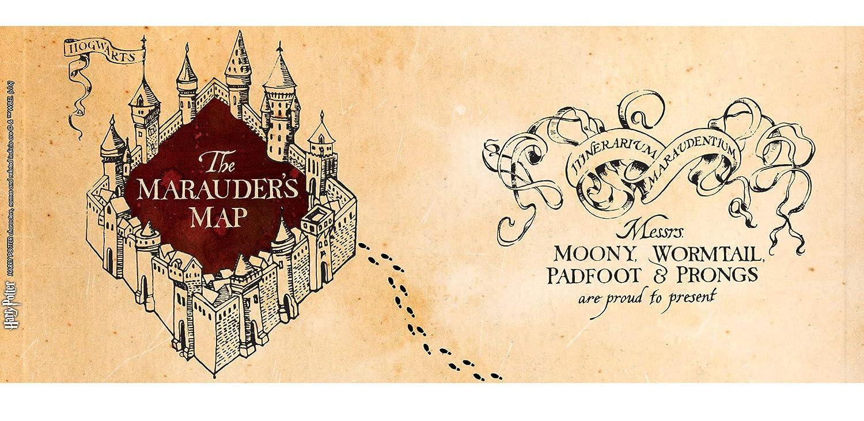 Abystyle Tasse Magische Harry Potter Karte Des Rumtreibers Für Die