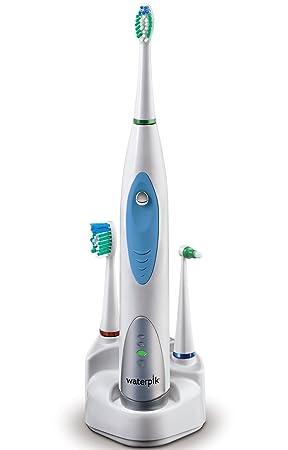 Waterpik Sensonic SR1000 - Cepillo de dientes eléctrico ultrasónico, cabezales intercambiables, color gris: Amazon.es: Salud y cuidado personal