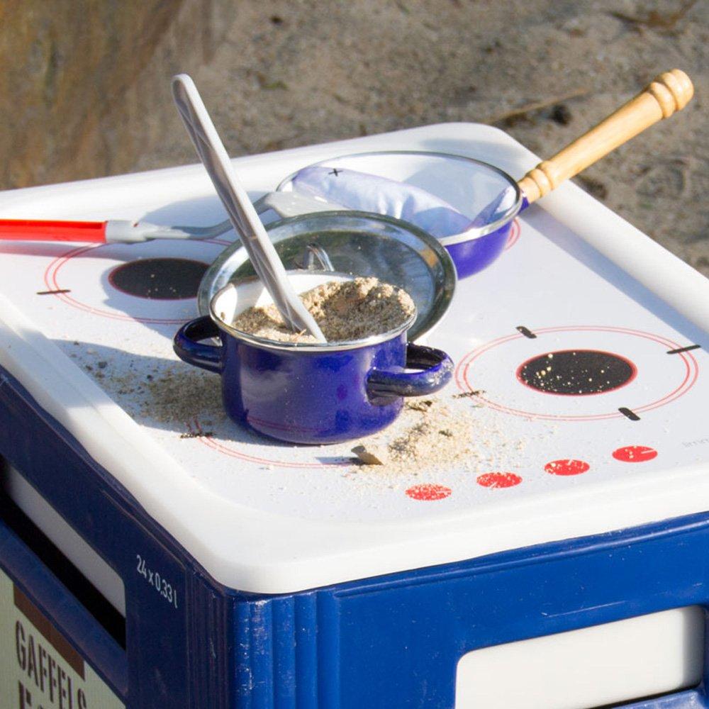 Matschküche selber bauen - Limmaland Spielfolie Matschküche Ikea