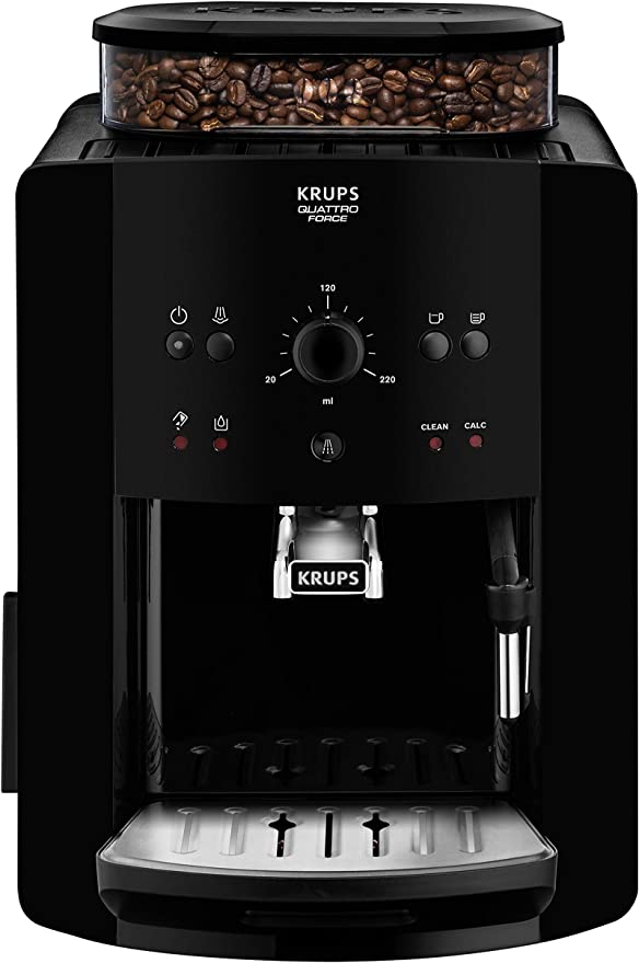 Arábica Cafetera Espresso Automática Krups