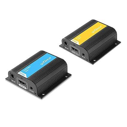 gofanco 426ft HDMI Extender 1080p Over a Single CAT5e/CAT6/CAT7 Ethernet on